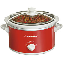 Proctor-Silex® 1.5-Quart Portable Oval Slow Cooker