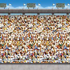 30' Upper Deck Stadium Backdrop