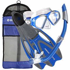 Us Driver Cozumelseabreezegearbagblusm Snorkel Set