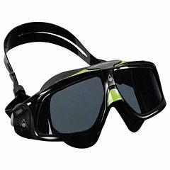 Us Driver Seal Mask Smoke Lens Black Swim Goggles