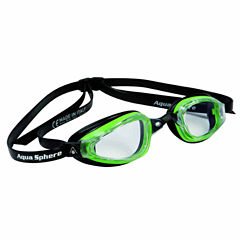 Us Driver K180plusgoggle Clearlens Gn Bk Swim Goggles