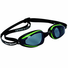 Us Driver K180plusgoggle Smokelens Gn Bk Swim Goggles