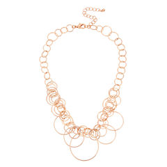 Bold Elements Womens 19 Inch Link Necklace