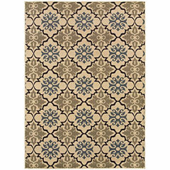 Covington Home Sterling Lattice Rectangular Rugs