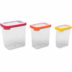 Joseph Joseph 6-pc. Nest Storage Tall Plastic Food Storage Containers Set