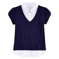 IZOD® Layered-Look Top - Preschool Girls 4-6x