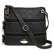 Rosetti® Triple Play Demi Mini Crossbody Bag