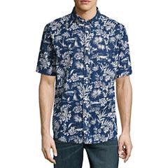St. John's Bay Crosshatch Shirt