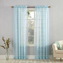 Mora Rod-Pocket Curtain Panel