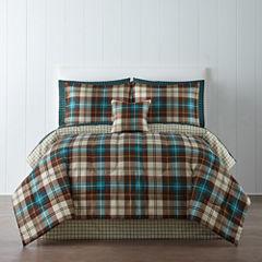 Home Expressions™ Decklan Plaid Comforter Set & Accessories
