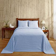 Better Trends Natick Chenille Bedspread & Accessories