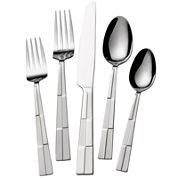 Mikasa® Checkmate Frost 20-pc. Flatware Set