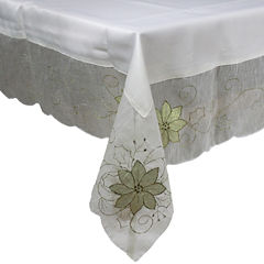 Homewear Holiday Shimmer Tablecloth