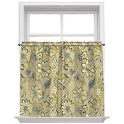 Brighton Blossom Rod Pocket Window Tiers