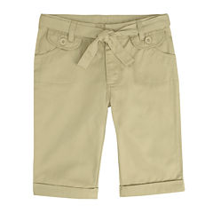 French Toast® Belted Bermuda Shorts - Preschool Girls 4-6x