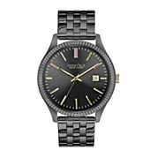 Caravelle New York® Mens Gunmetal Bracelet Watch 45B120