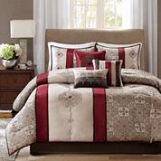 Madison Park Blaine 7-pc. Jacquard Comforter Set