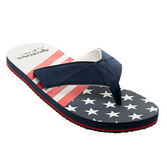 Arizona Stars and Stripes Flip Flops