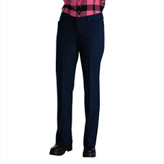 Dickies® Womens Relaxed-Fit Straight-Leg Stretch Twill Pants-Short