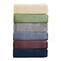 Orient Home Collection Velvet Super Soft Blanket