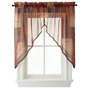 Eden Rod-Pocket Kitchen Window Treatments