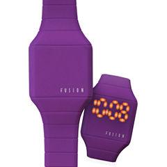 Dakota Fusion Kids Mini Hidden LED Watch, Purple 52564