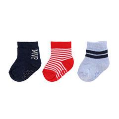 Carter's® 3-pk. Sports Stripe Socks - Baby Boys newborn-24m
