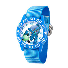 Disney Boys Blue Miles From Tomorrowland Time Teacher Strap Watch W003049
