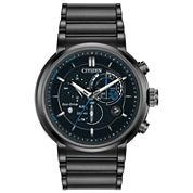 Citizen® Eco-Drive Mens Black Ion Plated Proximity Watch Bz1005-51E