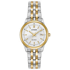 Citizen® Eco-Drive Ladies' Two Tone Watch Ew2404-57A