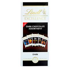 Lindt & Sprungli Excellence Dark Chocolate Assortment Gift Box - 17.5 oz.