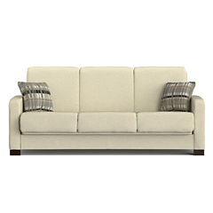 Sam Track-Arm Chenille Convert-a-Couch®