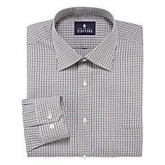 Stafford® Travel Easy Care Broadcloth Dress Shirt - Big & Tall
