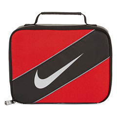 Nike® CLASSIC Black/Red Lunch Box