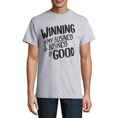 Winning Is My Short-Sleeve Graphic T-Shirt