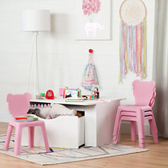 South Shore Crea Kids Table + Chairs