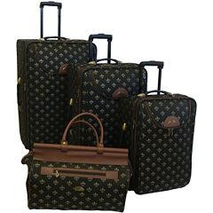 American Flyer Lyon 4-pc. Expandable Upright Luggage Set