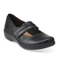 Clarks® Evianna Leather Mary Janes
