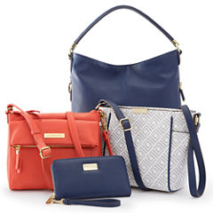 Liz Claiborne® Nautical Handbag and Wallet Collection