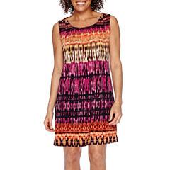 RN Studio by Ronni Nicole Sleeveless Pleated Sheath Dress