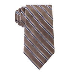 Stafford® Lakeside Stripe Silk Tie