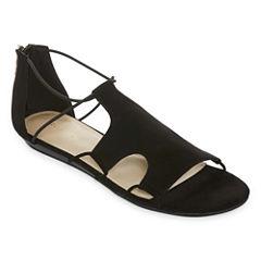 Liz Claiborne Anuta Womens Flat Sandals