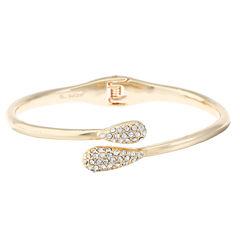 Monet Jewelry Womens Clear Bangle Bracelet
