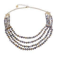 Liz Claiborne Multi Color Beaded Necklace