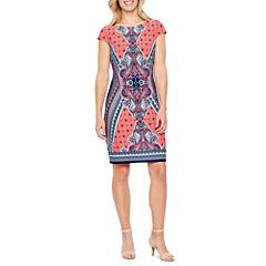 Liz Claiborne Short Sleeve Shift Dress