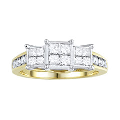 Love Lives Forever™ 1 CT. T.W. Diamond 10K Yellow Gold Ring