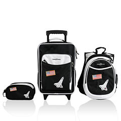 Obersee® Little Kids 3-pc. Space Luggage, Backpack & Toiletry Bag Set