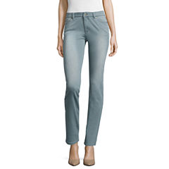 Liz Claiborne® City-Fit Skinny Jeans