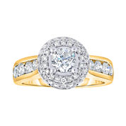 True Love, Celebrate Romance® 2 CT. T.W. Certified Diamond 14K Gold Engagement Ring