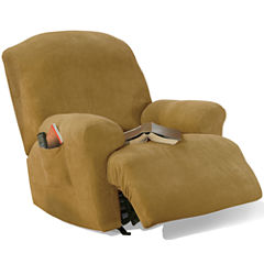 SURE FIT® Stretch Piqué 1-pc. Recliner Slipcover
